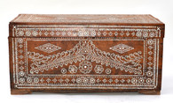 19th-C. Islamic Inlaid Chest