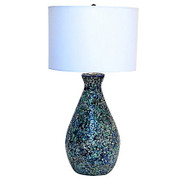 1950s Large Mosaic Table Lamp SOLD