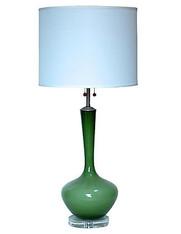 1960s Marbro Glass Table Lamp