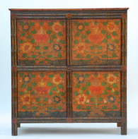 Antique Mongolian Cabinet SOLD