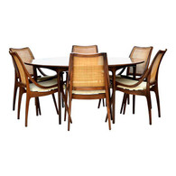 Glenn of California Walnut Dining Set SOLD