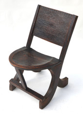 Antique Ethiopian Tribal Chair