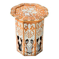 Syrian Mother of Pearl Inlay Table