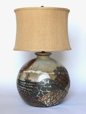 Cathra Barker Massive Ceramic Lamp