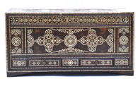 Antique Islamic Mother of Pearl Inlaid Trunk
