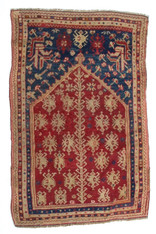 "Anatolian Prayer Rug 5'2"" x 3'3"""