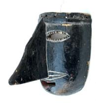Vintage Mexican Guerrero Tlacololero Mask