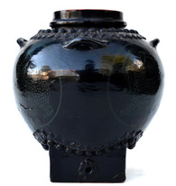 Burmese Lacquered Water Jug, early 1900s