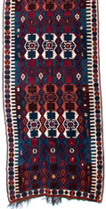 Antique Caucasian Kilim Rug