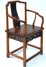 Stunning 19th Century Chinese Carved Chair