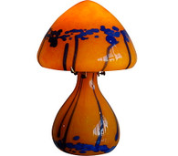 1970s French Handblown Glass Lamp
