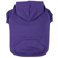Basic Dog Hoodie Purple
