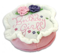 Birthday Girl Plush Cake