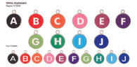 Cleopetra Alphabet Dog Tags
