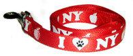 I Love NY Dog Leash