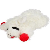 Lamb Chop Dog Toy 6""