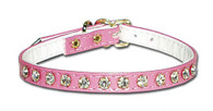 One Row Rhinestone Collar
