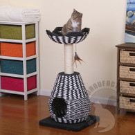 Petpals Contemporary Cat House with Perch