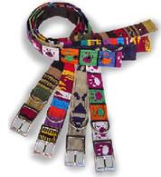 Personalized Maya Belt Style Buckle Collar