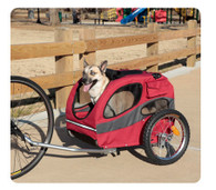 Track'r Houndabout II Dog Bike Trailer Medium