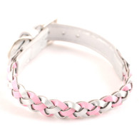 Dogo Braided Silver Collar