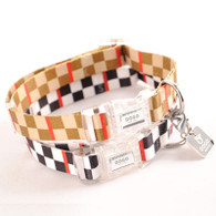 Contempo Checkered Collar