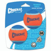 Chuckit Tennis Balls- Medium (2 count)