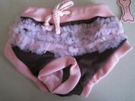 Brown Ruffle Panties