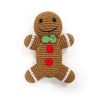 Crochet Gingerbread Man Toy