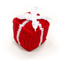 Crochet Gift Box Toy