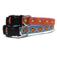 Ikat Dog Collar and Leash
