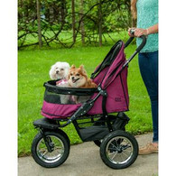 No Zip Double Pet Stroller