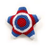 Crochet National Star Toy