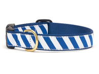 Blue White Stripe Collar