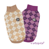 Catspia Argyle Meow Sweater