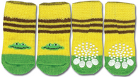 Frog Print Non-Skid Dog Socks