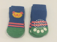 Bear Print Non-Skid Dog Socks