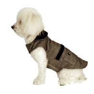Menswear Striped Dog Coat