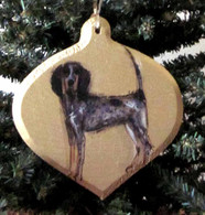 Custom Hand Painted Oval Ornament
