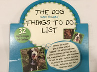 The Dog (And Human) Things To Do List