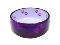 Unbridled Creations Translucent Dog Bowl, Small