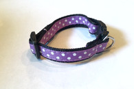 Polka Dot Small Ribbon Collar