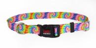 Tie Dye Tuff Lock Dog Collar