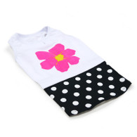 Flower and Dot Tank Dress