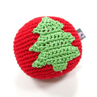 Crochet Christmas Tree Ball Toy