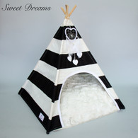 Hello Doggie Sweet Dreams TeePee Bed