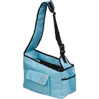 OVER-THE-SHOULDER HANDS FREE ZIPPERED  DOG CARRIER