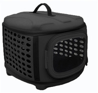 Circular Shelled Perforate Lightweight Collapsible Pet Carrier