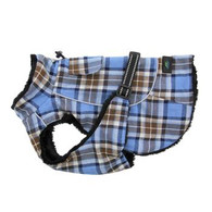 Alpine Flannel Plaid Dog Coat