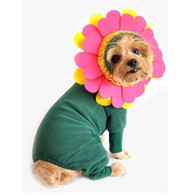Flower Costume Fleece PJ with Headpiece
